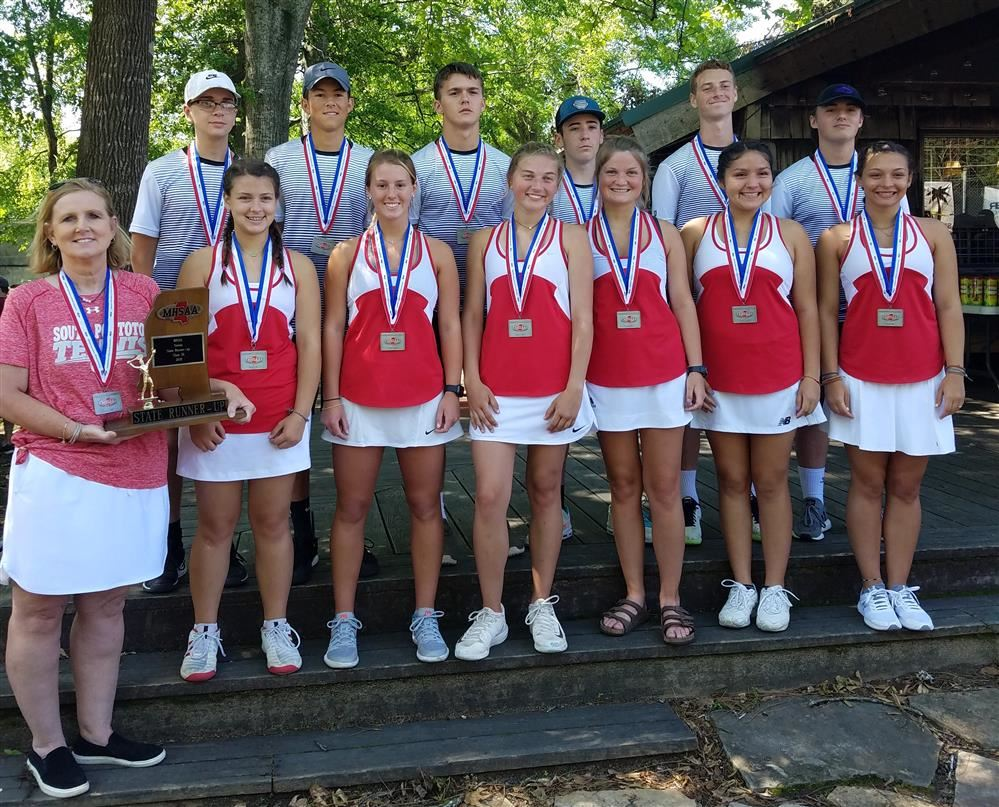 Tennis Team is State Runner-Up!